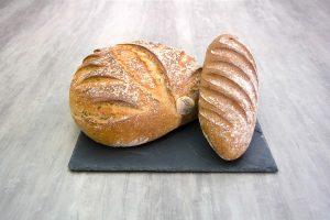 Découvrez le croustillant et mie souple du pain de campagne précuit Briogel